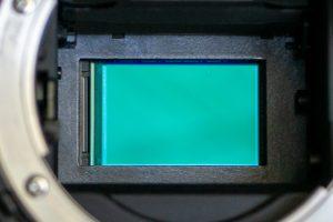 Foto zeigt das innere einer Digitalen Spiegelreflexkamera